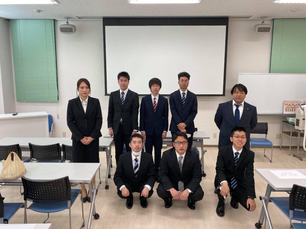 【岡山営業所】2020年 新入社員入社式