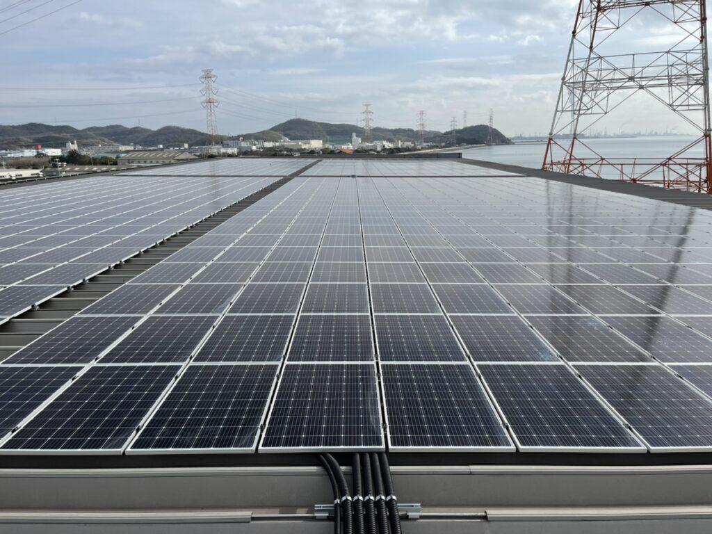 【工事部門】自家消費型太陽光発電設備設置工事(姫路市)